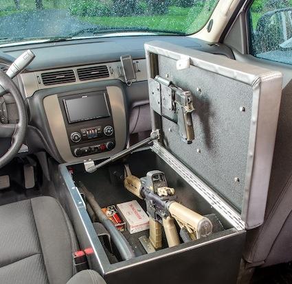console gun bunker for auto stashvault