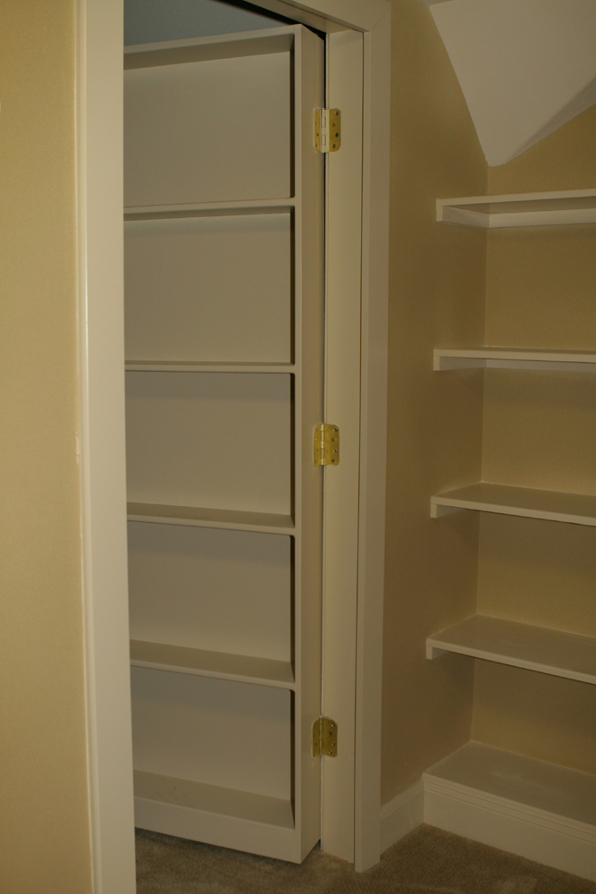 Moving Bookcase Hidden Door Security Sistems