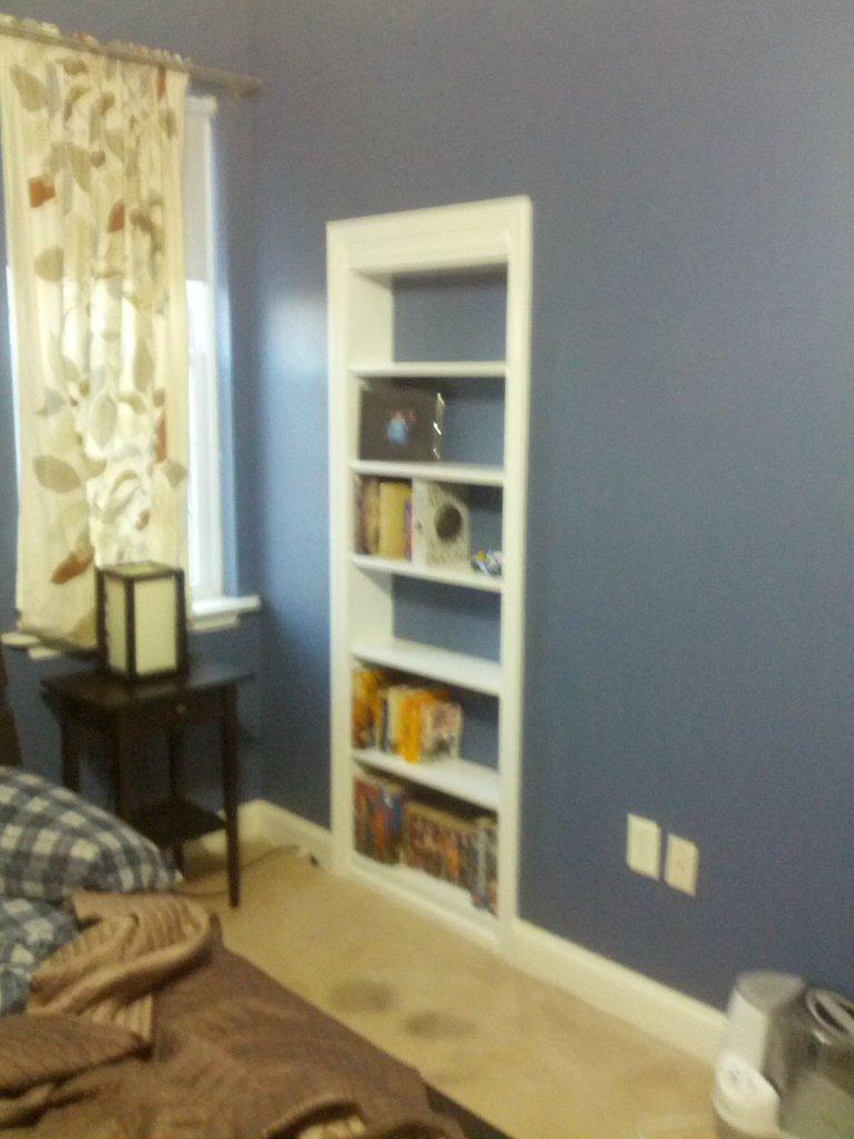 Hidden Bookcase Door Stashvault