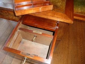 Secret Lockable Compartment In Desk Stashvault