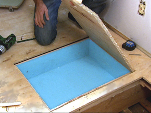 How to create under floor storage stashvault for How to make a secret compartment in your wall